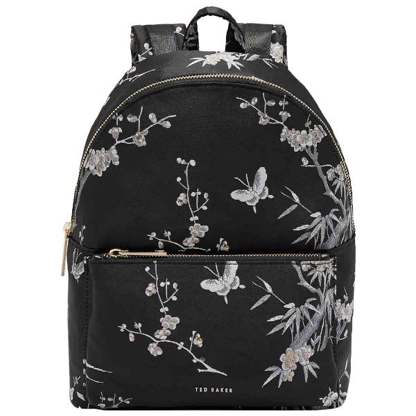 Ted Baker Black Backpack