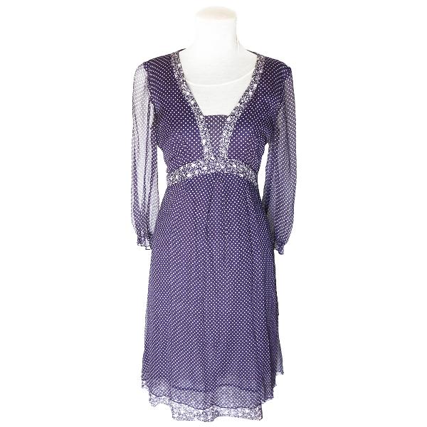 Marella Multicolour Silk Dress