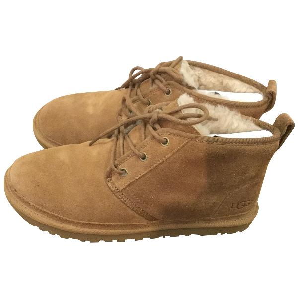 Ugg Camel Suede Boots