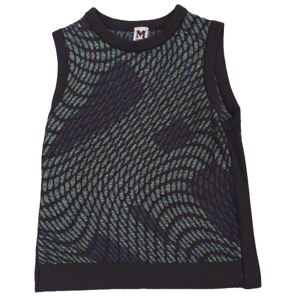 M Missoni Green Wool  Top