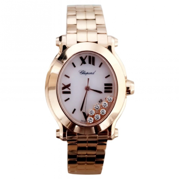 Chopard Happy Sport Gold Pink Gold Watch