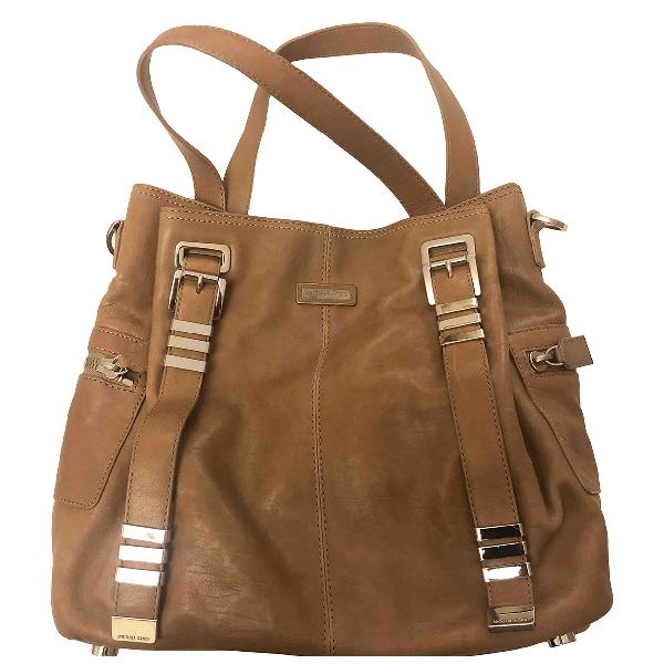 Michael Kors Beige Leather Handbag