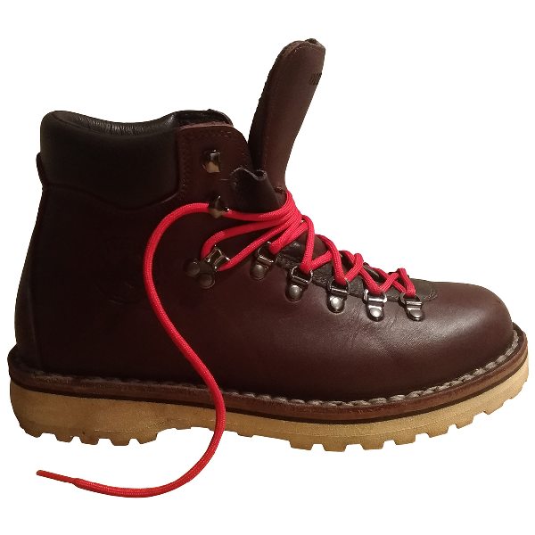 Diemme Brown Leather Boots