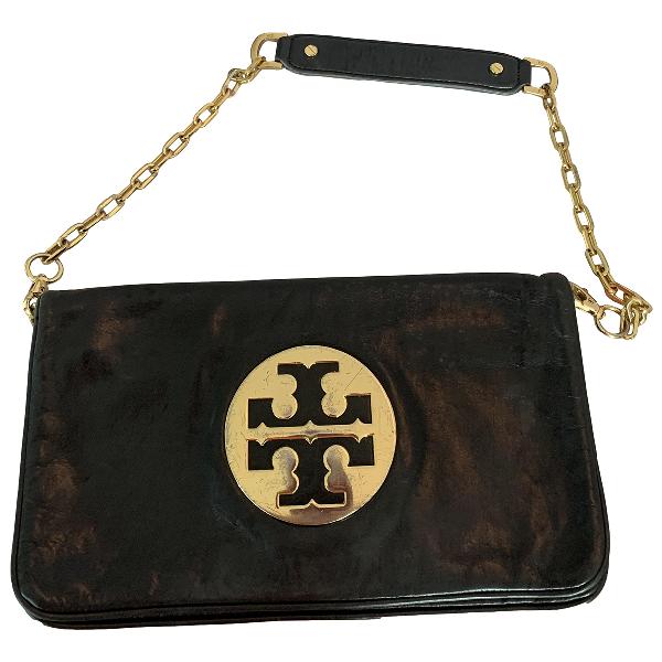 Tory Burch Black Fur Handbag