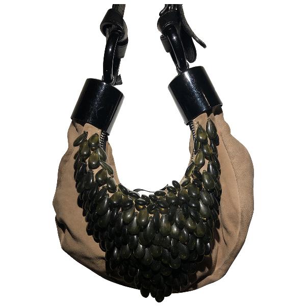 ChloÉ Beige Suede Handbag