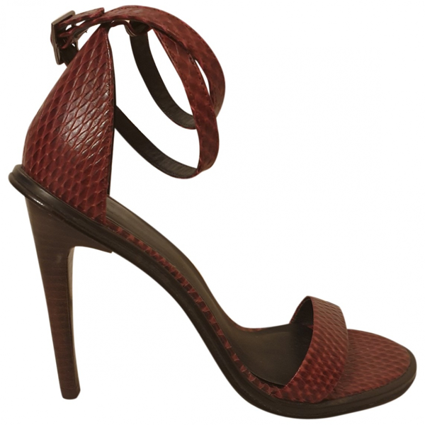 Pre-owned Tibi Leather Sandals