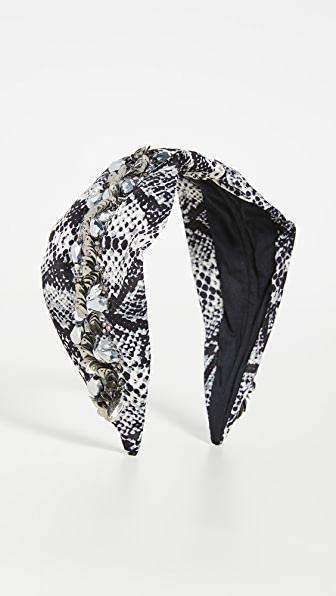 Namjosh Grey Snake Headband