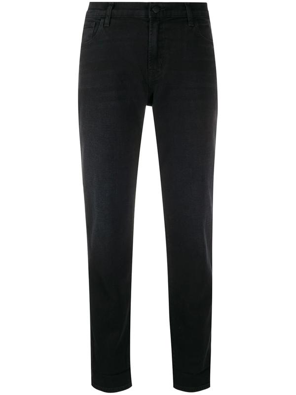 J Brand Slim-fit Jeans In Black