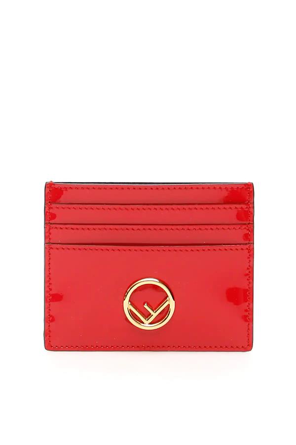 Fendi Cardholder In Red
