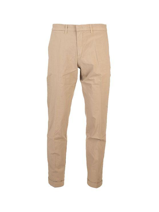 Fay Men's Ntm8640189trsec806 Beige Cotton Pants In Brown