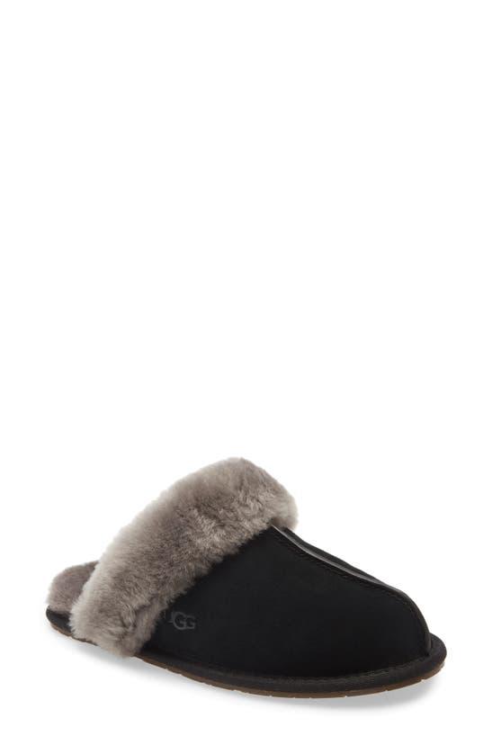 Ugg Scuffette Ii Slippers In Black/grey