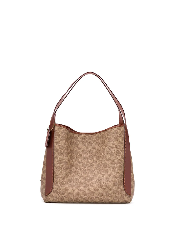 Coach Dalton Monogram Coated Canvas Shoulder Bag In Neutrals