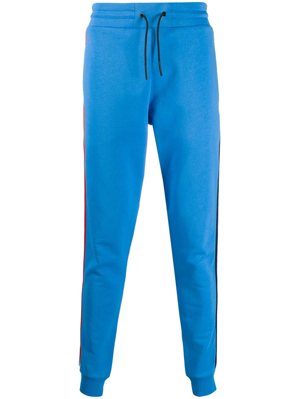 Rossignol Racer Stripe Tapered Track Pants In Blue