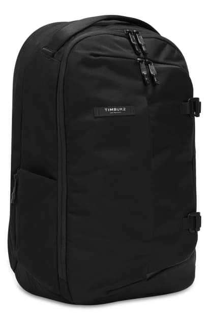 Timbuk2 Never Check Expandable Backpack In Jet Black