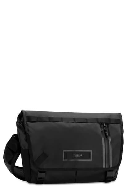 Timbuk2 Especial Stash Messenger Bag In Jet Black