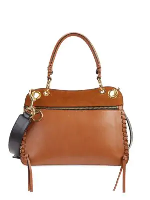 See By Chloé Women's Tilda Leather Bag In Caramel
