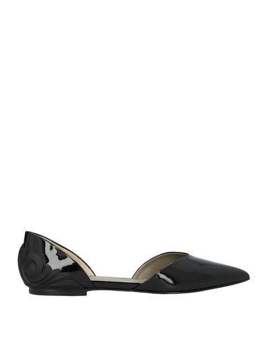Versace Ballet Flats In Black