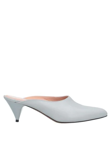 Liviana Conti Mules And Clogs In Light Grey