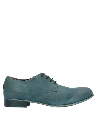 Le Ruemarcel Laced Shoes In Green