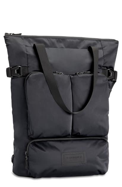 Timbuk2 Vapor Black Convertible Tote Bag In Jet Black