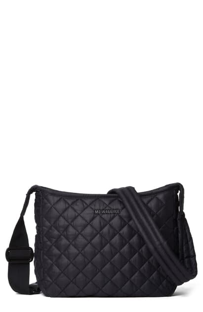 Mz Wallace Small Parker Crossbody Bag In Black