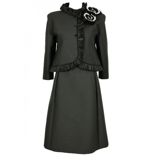 Roberto Capucci Black Wool Jacket