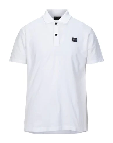 Paul & Shark Polo Shirts In White