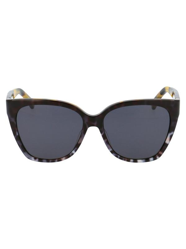 Moschino Eyewear Square Frame Sunglasses In Multi