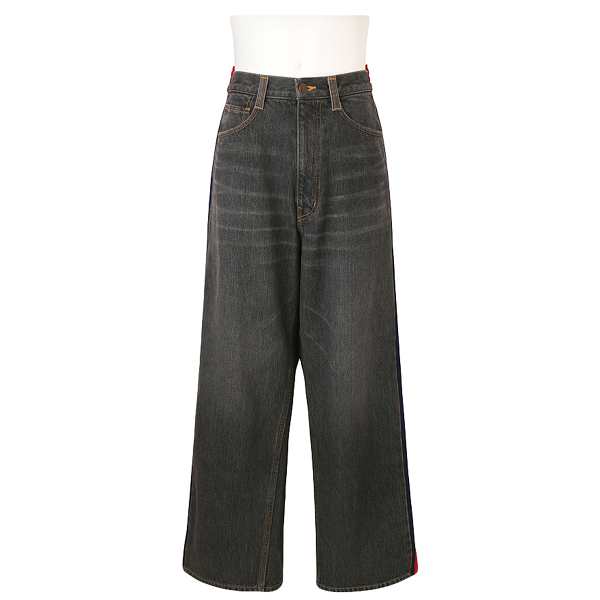 Facetasm Black Cotton - Elasthane Jeans