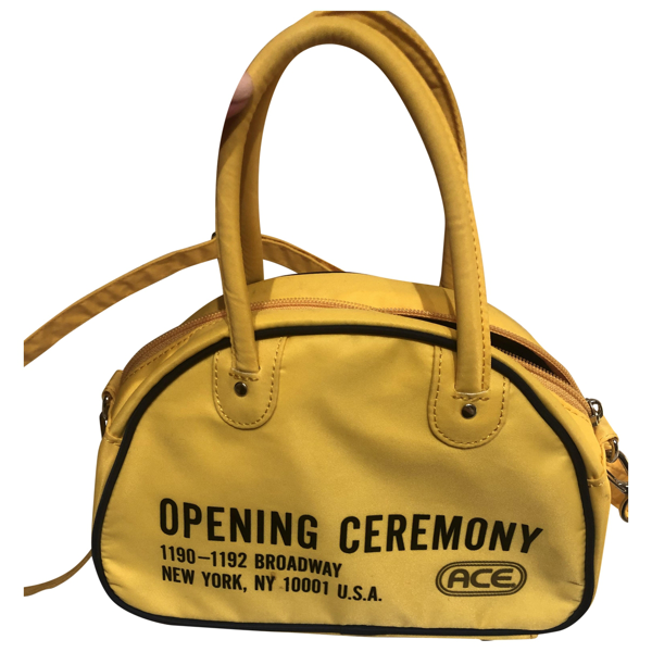 Pre-owned Opening Ceremony Yellow Handbag