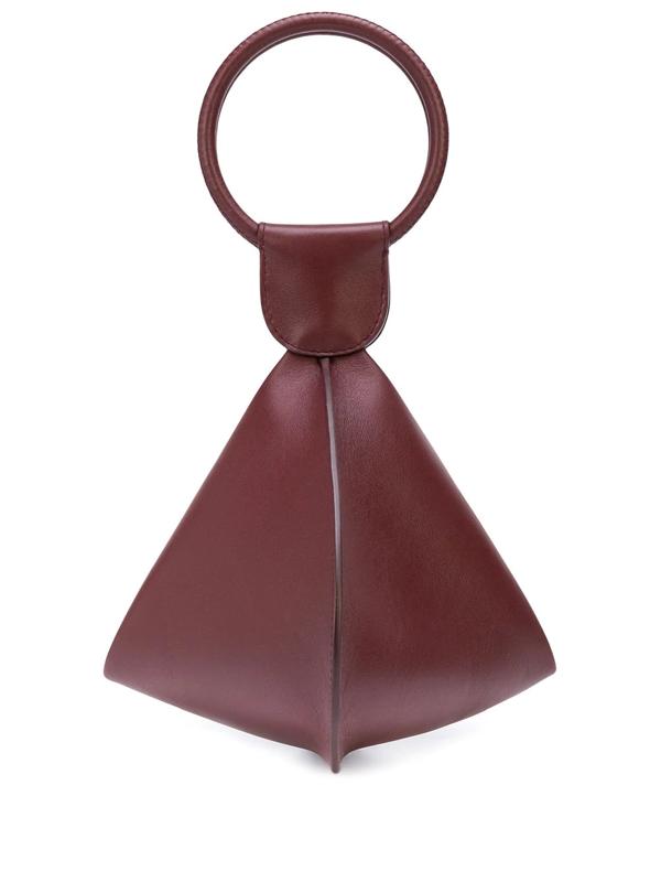 Emma Charles Medium Lady Gwen Handbag In Red