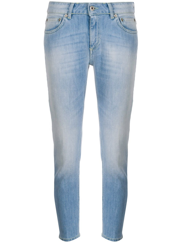 Dondup Low-rise Skinny Jeans In Blue