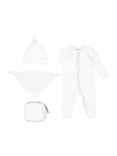 Burberry Babies' Kids Dixie-set In White
