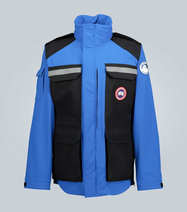 Canada Goose Pbi Photojournalist Water Resistant Jacket In Blue