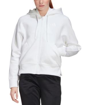 Adidas Originals Adidas Women's Zip Hoodie In White