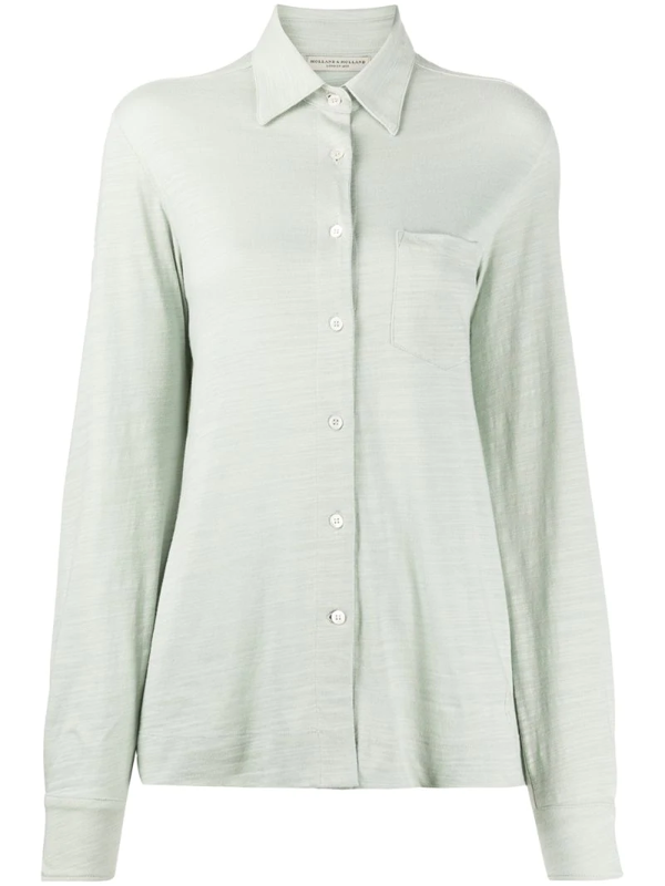 Holland & Holland Chest Pocket Shirt In Green