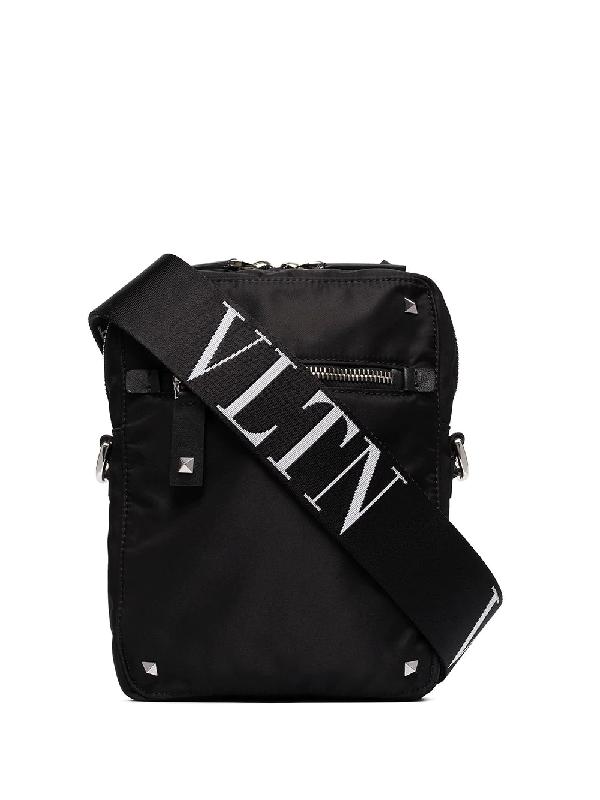 Valentino Garavani Vltnstar Crossbody Bag In Black