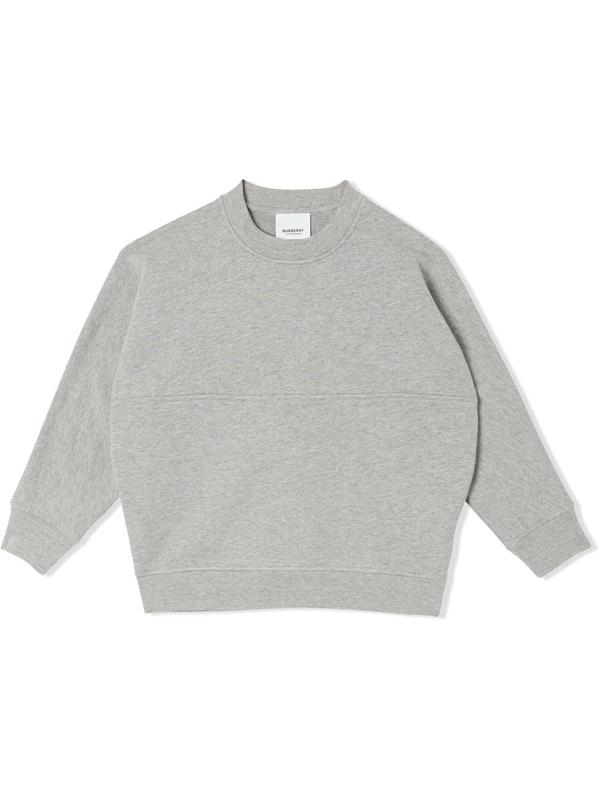 Burberry Kids' Little Boy's & Boy's Linus Sweatshirt In Grey