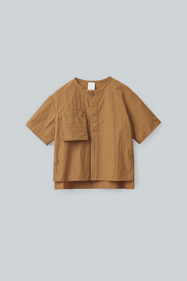 Cos Kids' Cotton Patch Pocket Top In Yellow