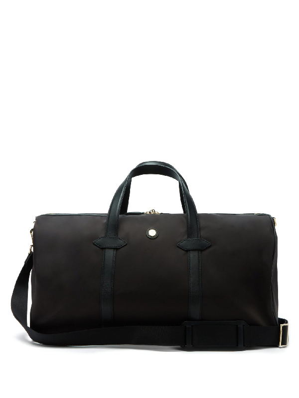 Paravel Main Line Technical-canvas Holdall In Black