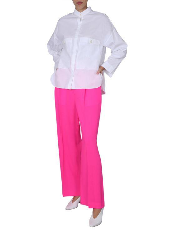 Jejia Long Length Trousers In Pink