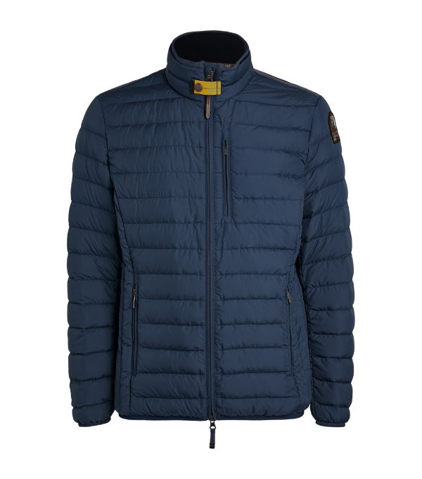 Parajumpers Ugo Quilted Jacket In Navy