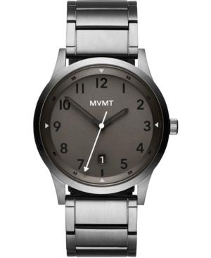 Mvmt Men's Field Gunmetal Stainless Steel Bracelet Watch 41mm