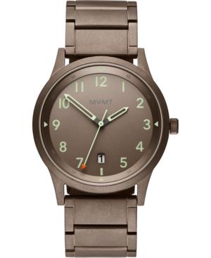 Mvmt Men's Field Taupe Stainless Steel Bracelet Watch 41mm
