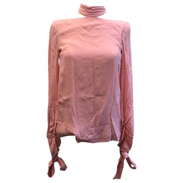 Rosetta Getty Pink  Top