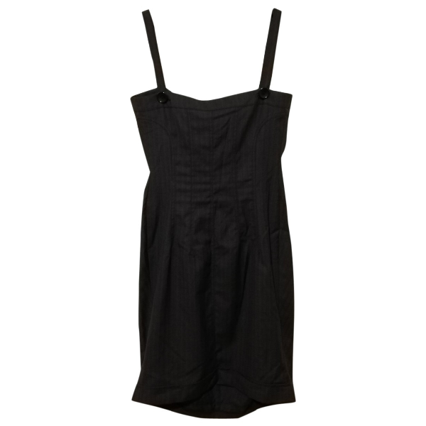 Daniele Alessandrini Anthracite Dress
