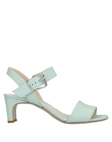 Gianni Marra Sandals In Light Green