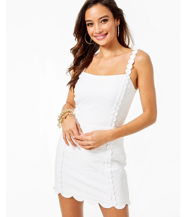 Lilly Pulitzer Jesse Jacquard Romper In Resort White Palm Paradise Pucker Jacquard