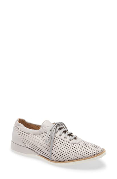 Amalfi By Rangoni Ethan Perforated Sneaker In Nuvola Leather