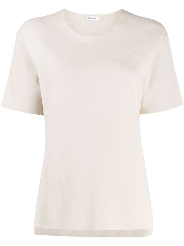 Filippa K Rose Knitted Top In Neutrals